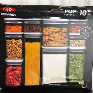 OXO Kitchen - OXO Good Grips Pop Container 10pc Set New